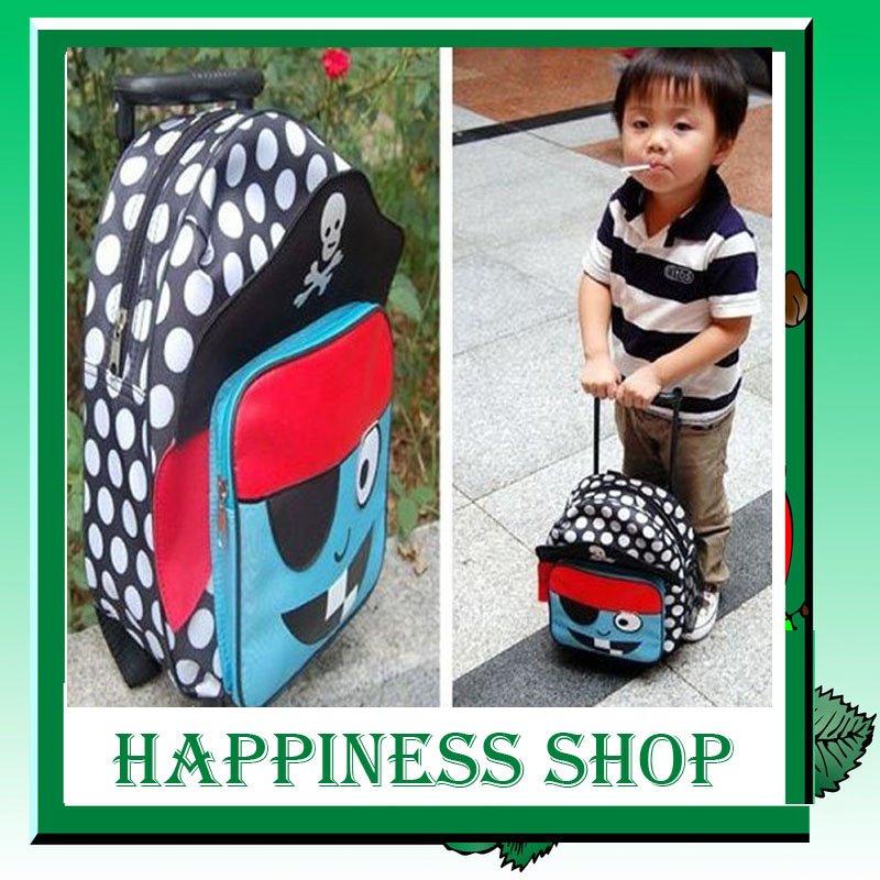 Crianças atacado nono infantil Trolley rolamento saco Schoolbag mochila 10 pçs/lote(China (Mainland))