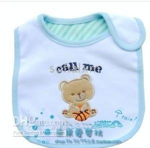 BIB Infant 75pcs Factory price Babies Cotton Carton Bibs Baby Feeding CARTER&#39;S BABY(China (Mainland))