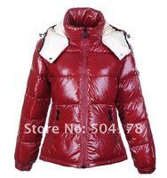 Женские пуховики, Куртки Lady Long Jacket Hood & Belt Winter Fur Collar Slim Down Wadded Cotton-Padded Jacket Plus Size Women's Raccoon Fur Down Jacket