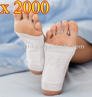 HOT ! 2000 pcs/lot New Detox Foot Pad Patch & Adhesive Sheets DHL Shipping