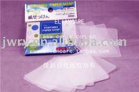 30PCS 6*9CM ROSE SCENTED HAND PAPER SOAP--HOT!!