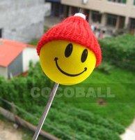 Hot Sale eva foam aerial antenna ball topper red hat girl