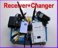 free shipping!!!3piece/lot 15CH 700MW Wireless AV Video CCTV Receiver Transmitter