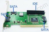 PCI SATA IDE Controller Card SATA Interface Cable 0003