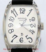 Free shipping 10pcs/lot quartz watch for man/ quartz watch movement/ W2003