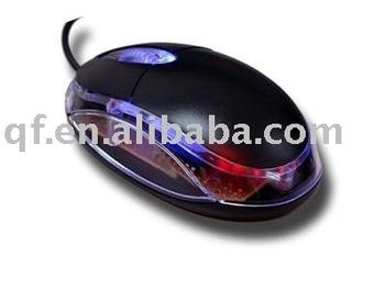 20pcs wholesale and retail 3D LED USB Mini Optical Mouse for Laptop computer PC