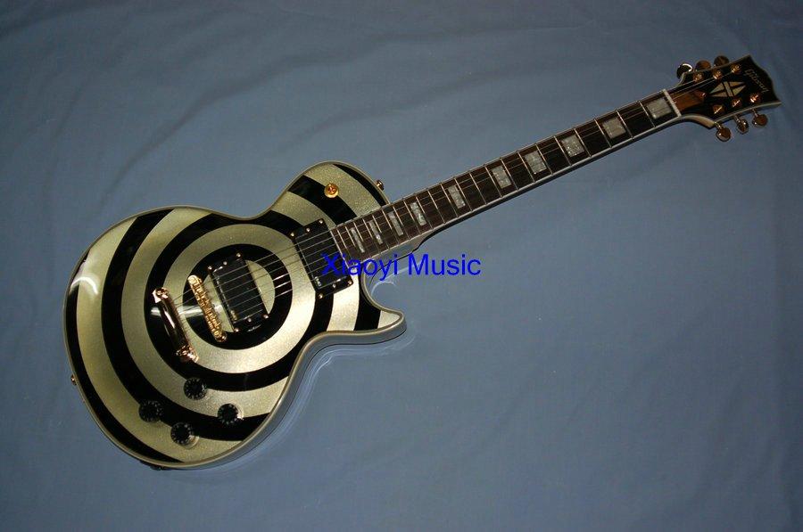 SLASH Custom ZAKK wylde bulleye Electric Guitar china factory wholesaler(China (Mainland))