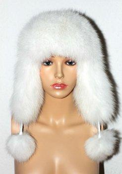 Free shipping Cozy Fox Fur hat, Fox fur cap,Fur Hat,warm cap