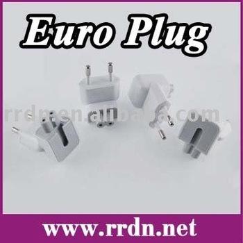 Euro Plug for Apple Mac MagSafe Adapter & USB Adapter