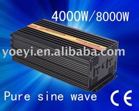 Factory sell 4000w pure sine wave solar inverter/power inverter free shipping