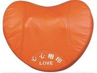 Free shipping,Kneading Massage Cushion for Neck and Waist Multi -purpose Massage Pillow neck massager Body massager Heart Shape