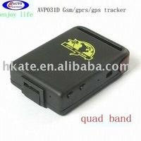 free shipping New quadband gps phone tracker AVP031D