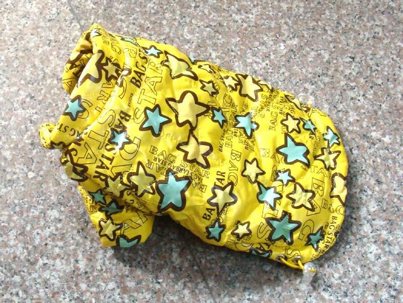 O envio gratuito de Nova chegada! Inverno roupas pet capa de chuva impermeável Snowproof produtos pet ambos os lados podem usar(China (Mainland))