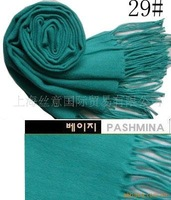 Free Shipping New Cashmere Pashmina Silk Solid Scarf Shawl Wrap Hot wholesale/retail