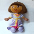 "High Quality Soft Plush Dora the Explorer PRINCESS Dora Plush Doll Toy New 11"" Wholesale and retail"