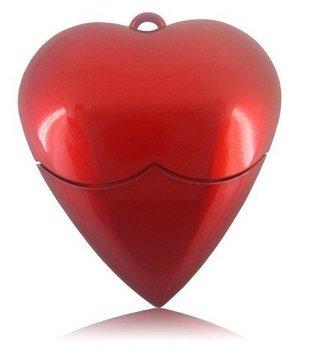4GB Heart Shape USB Flash Drive