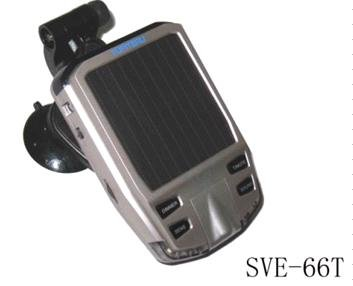 drop shipping solar radar detector SVE-66T 6 BAND (X/K/New K/Ku/Ka/Laser)360 degree laser(China (Mainland))