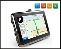 Car GPS with ISDB-T,BT,FM,AV.2GB with map