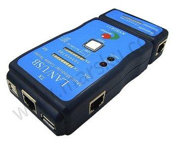 LAN USB Network RJ45 Cat5 RJ11 Cable Tester  0171