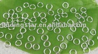 FREE SHIPPING 5000PCS Silver plated JUMP RING connectors 4mm M178