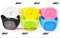 Wholesale--50pcs/lot ZG watch ,Fashion silicone watch, jelly watch