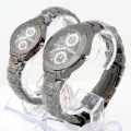 SINOBI tungsten steel quartz couples watches S3595