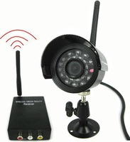 Most Popular! Wholesale and retail+Guaranteed 100% +2.4GHz Wireless Receiver and Water Resistant Wireless Camera