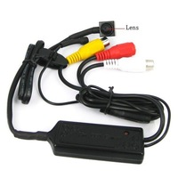 Wholesale and retail+Guaranteed 100% +Miniature Pinhole 1/4 Inch Color CCD Camera