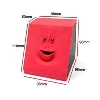 Face Bank coin box money box cute & free shipping