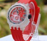 Shine watch,jelly watch,odm watch,round high-quality Janpanese  55pcs for Free Shipping