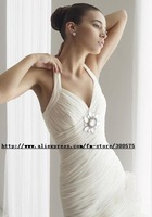 Free shipping 2011new style wedding dress / halter sexy wedding dress/ wedding gown / wedding dress
