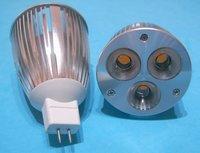 dimmable MR16 LED spotlihgt ;3*2W;epistar LED,DC12V input