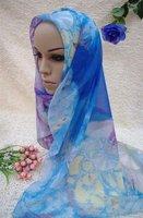 1226tc187-12  new design shawls islam chiffon shawl fashionable long hijabs muslim scarves
