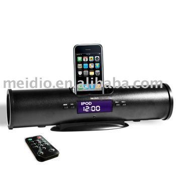 mp3 speaker case+with fm lcd radio-IMUSIC5