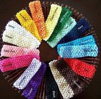 1.5 INCH Girl Crochet Headband soft Many Colors Crochet Headband 120pcs/lot