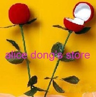 Rose Ring Box Valentine's Day Birthday Wedding Ring Box 50pcs/lot+ (Free Shipping & Drop Shipping Support!)