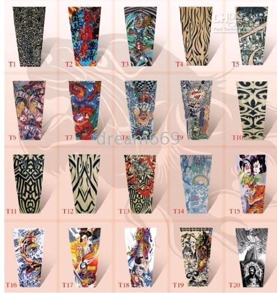 tattoos lifelike 50pcs/lots brand new Fashionable tattoo takes sleeves simulation results XT32 cool(China (Mainland))