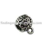 FREE SHIPPING 175pcs Tibetan silver european bead bail for bracelets A11529
