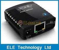 Free Shipping Retail USB 2.0 Ethernet Network Print Server