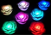 Free shipping Wholesale Valentine's Gifts LED Flashing Rose Light 1pc/box 50pcs/lot Fast delivery