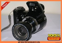 "Free shipping Popular DC Camera 12MP Max,5.0CMOS Sensor,2.4""TFT LCD,8X Digital Zoom,TV Out,Wide-angle Lens(DC-500T)"