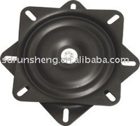 "6.5"" small size 360 degree and flat swivel plate"