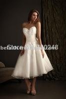Best Selling Freeshipping Gorgeous Bridal Short/ Mini Wedding Dresses 2610