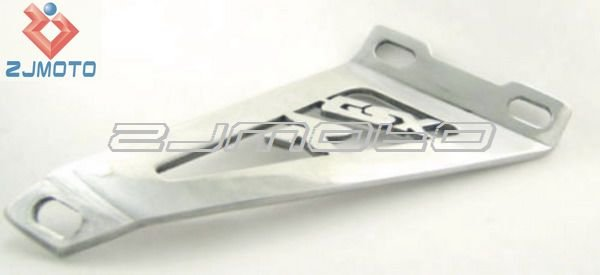"Motorcycle Polished Exhaust Hanger 2000-2004 Suzuki GSXR 600 750 1000 Polished ""GSXR"" Exhaust Hanger(China (Mainland))"