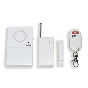 Free Shipping The gate magnetism wireless alarm with remote controller High Sensortive for Home/Business(China (Mainland))