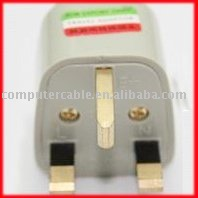 50pcs Universal Power Travel Adapter Plug AC for UK England