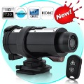 Free Ship!10M waterproof 720P action diving camera with remote control TV OUT