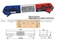 Low price! TBD-GA-05625A Rotator Lightbar + 100W siren + 100W speaker, DC12V/24V, PC lenses, Waterproof, CE passed