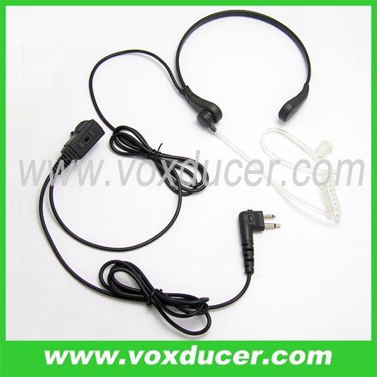 Light duty throat microphone for Motorola wireless radio Spirit Series SV10 SV11 SV11D SV21(China (Mainland))
