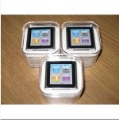 Free shipping 1.5&quot; LCD 8GB 6th stlye MP3 MP4 Player ID3 Lyrics display E-book Video Radio FM MP3 MP4 +GIFT